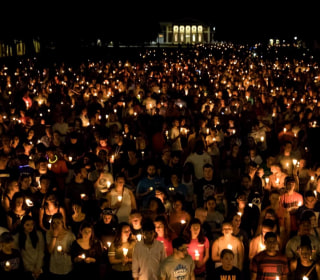 In Charlottesville, candlelight vigil against hate draws thousands
