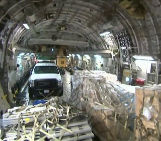Inside Relief Flight to Hurricane Battered St. Thomas