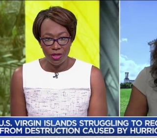 After hurricanes, has Trump ignored the U.S. Virgin Islands?