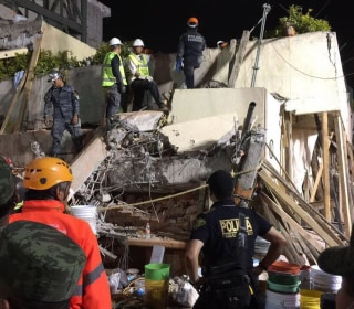 At Least 20 Children Killed in Mexico City School Collapse