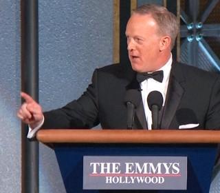 Sean Spicer Surprises Emmys Audience