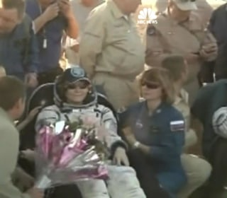 Astronaut Peggy Whitson Spends, A Record, 665 Days In Space