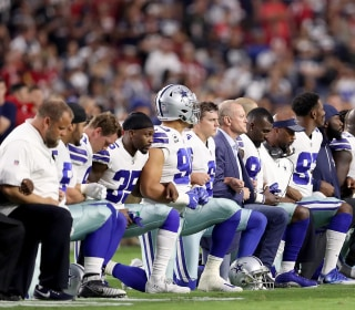 Dallas Cowboys, Owner Jerry Jones Kneel Before National Anthem