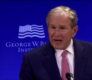 George W. Bush: U.S. Discourse Has Been 'Degraded by Casual Cruelty'
