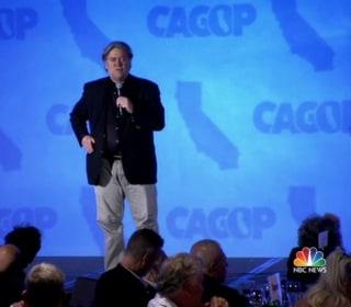 Steve Bannon Attacks Bush for Anti-Trump Speech