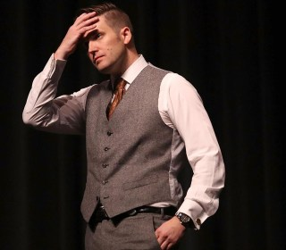 Boos, Chants Drown Out Richard Spencer at Univ. of Florida