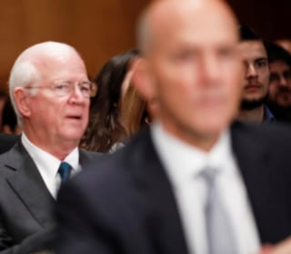 'Monopoly Man' Photobombs Former Equifax CEO's Congressional Hearing