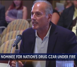 Trump's Pick for Drug Czar Under Fire