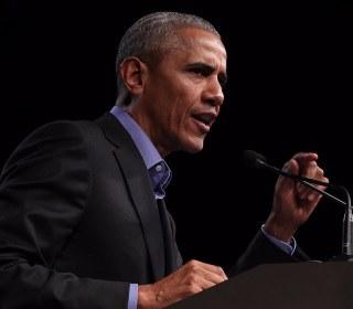 Former Presidents George W. Bush and Barack Obama make veiled critiques of Trump era