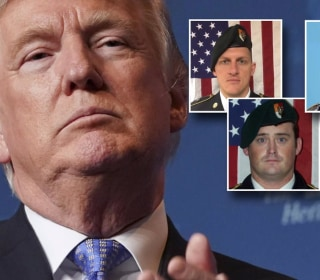 Trump to widow of fallen soldier: 'He knew what he signed up for'