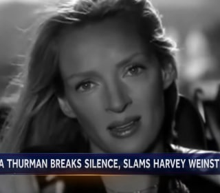 Uma Thurman breaks silence and slams Harvey Weinstein