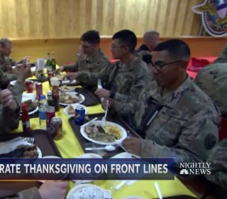 How U.S. troops spend Thanksgiving in Afghanistan