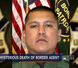 No answers in death of border patrol agent