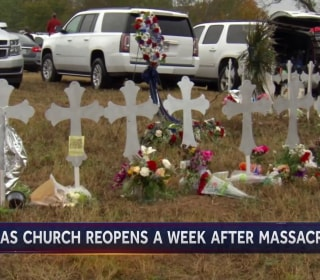 Texas Church Reopens One Week After Massacre