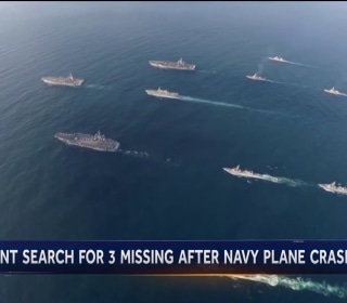 Deadly year for Navy fleet with 3 missing from plane crash over Philippine Sea