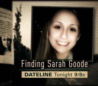 DATELINE FRIDAY SNEAK PEEK: Finding Sarah Goode