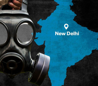 Learning to breathe in New Delhi, one of the world's most polluted cities