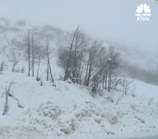 7 feet of snow, over 3 days, buries Alaska town