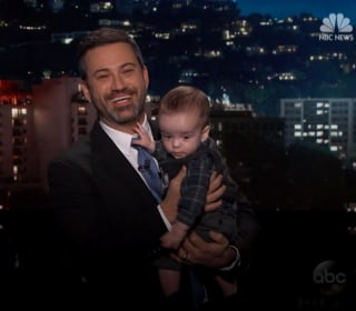 Jimmy Kimmel and his son make a plea for health care reform