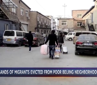 Chinese workers evicted in massive housing crackdown