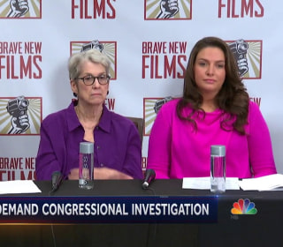 Trump accusers share stories, senator calls for congressional investigation