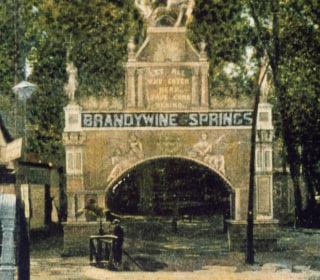 A Postcard from the Field: Brandywine Springs Amusement Park