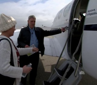 Volunteers fly those affected by mudslides to lifesaving treatment