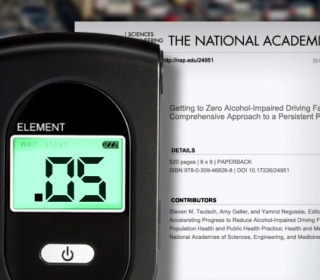 New study says blood alcohol level should be lowered from .08 to .05 for all drivers