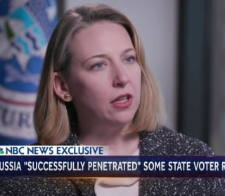 DHS cybersecurity head: 'No doubt' Russians penetrated voter registration systems