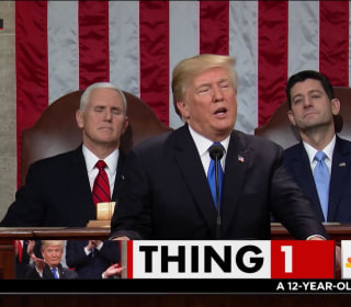 Trump's new bald-faced lie about his State of the Union