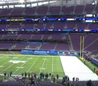 Flu concerns among Super Bowl crowds