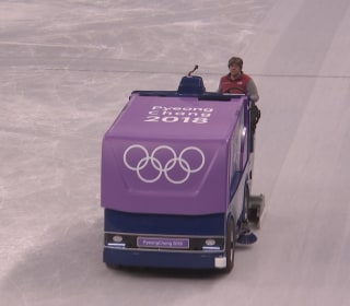 Colorado woman is living her Olympic dream as a Zamboni driver
