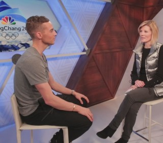 Adam Rippon on being a role model and his advice to kids