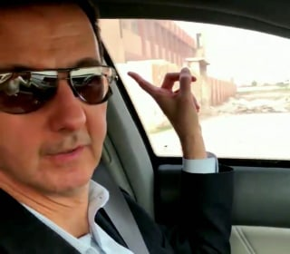 Assad gives video driving tour of territory captured from Syria's rebels