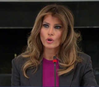 Melania Trump addresses critics at cyberbullying summit