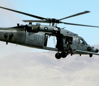 U.S. Air Force helicopter crashes near Iraq border, killing seven on board