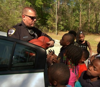 How this police officer used his viral fame to help communities across the country