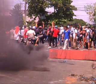Protests in Nicaragua turn fatal over social security reform
