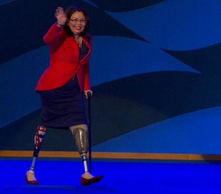 Tammy Duckworth is first US senator to give birth while in office