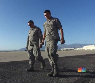 Father and son stationed at same Arizona Air Force base