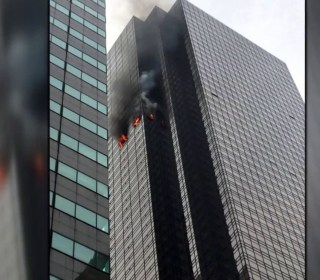 Fire breaks out in Trump Tower, killing one