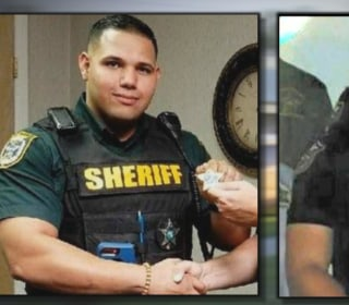 Why were two Florida sheriff's deputies shot and killed in a restaurant?