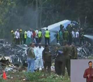 Cuban plane crashes shortly after takeoff from Havana airport
