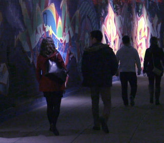 A hidden world where art comes alive: The Dupont Underground