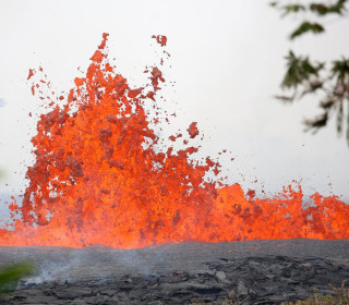 Lava bombs, lava haze, volcanic smog: What are they and what do they look like?