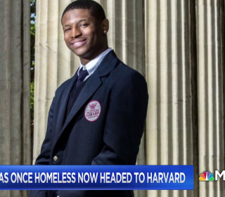 Teen who was once homeless now headed to Harvard