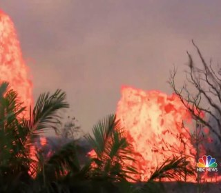 National Guard warns Hawaii residents may soon be trapped following volcanic eruption
