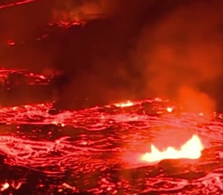 Hawaii volcano lava causes more destruction
