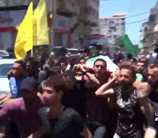 Palestinians hold funerals as Gaza protests continue