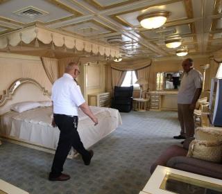 Saddam's luxury yacht to become a high-seas hotel